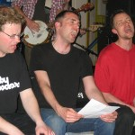 "Søren, Ulrik, Steffen: ""Been talking to preachers!"""