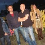 Holst, Sellers, Manzini, Liza Berthelsen från Border Music och främre delen av Åkerström. Foto: Lennart Persson