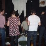 8 koreograferade musiker på Stationens scen. Snudd på Guiness Rekordbok!