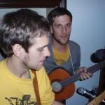 Strängt fokuserade instrumentalister.